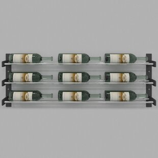 Evolution Series 9 Bottle Wall Mounted Wine Rack by VintageView
