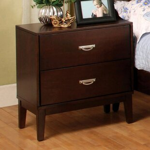Darby Home Co Alys 2 Drawer Nightstand
