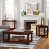 Kensley 3 Piece Coffee Table Set by Three Posts™