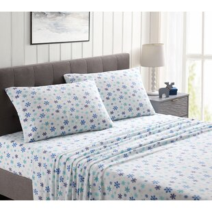 Julienne Ultra Plush Floral Sheet Set