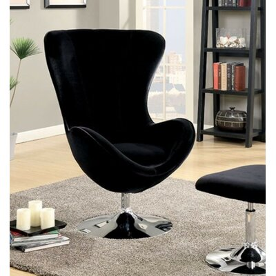 Strange Mateo Wingback Chair Brayden Studio Upholstery Black Dailytribune Chair Design For Home Dailytribuneorg