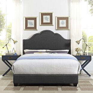 Benedict Camelback Upholstered Panel Bed by Alcott Hill