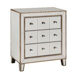 3 Drawer Mirrored Apothecary Accent Chest by Rosdorf Park