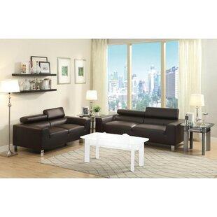 Orren Ellis Attwater 2 Piece Living Room Set