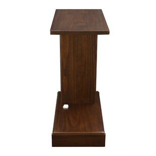 Augie C-Table with Concealed Drawer by Andover Mills