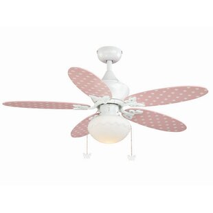 Ceiling fan for kids room wayfair dupont 5 blade ceiling fan aloadofball Images