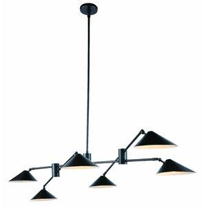 Donte 6 Light LED Pool Table Light