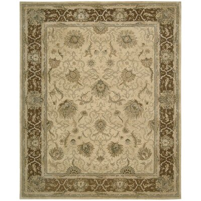 Lundeen Hand Tufted Wool Beige Area Rug Astoria Grand Rug Size Rectangle 56 X 86