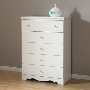 Bargain Crystal 5 Drawer Chest By South Shore
