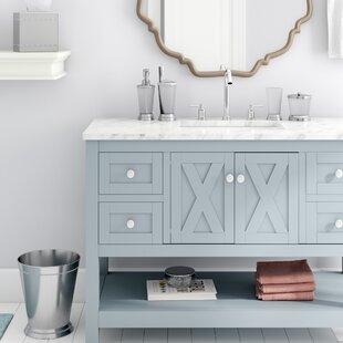 Purchase Larocque Crackle 7 Piece Bathroom Accessory Set ByLark Manor