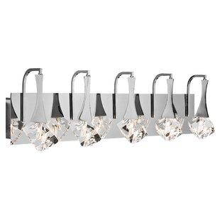 Willa Arlo Interiors Westover 5-Light LED Vanity Light
