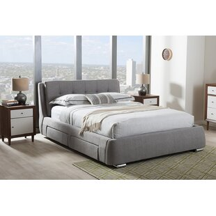 Quinn Upholstered Platform Bed