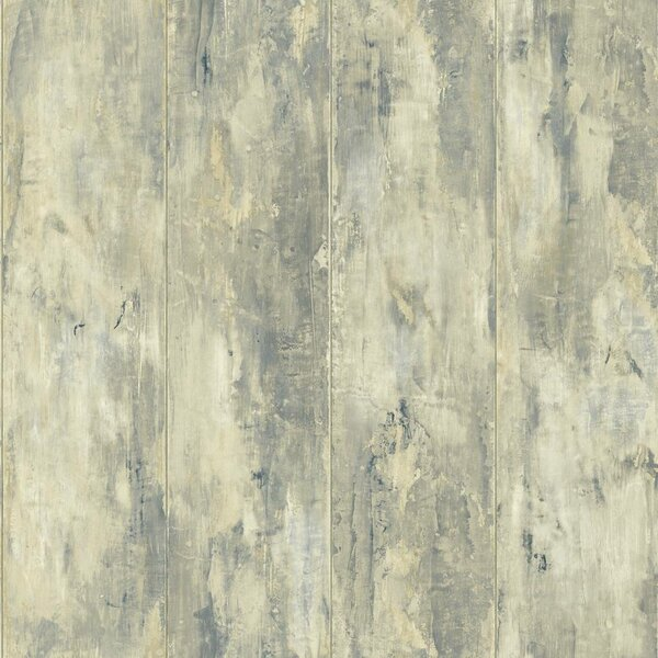 Marylyn Painted Wood Planks 33 L X 20 5 W Wallpaper Roll