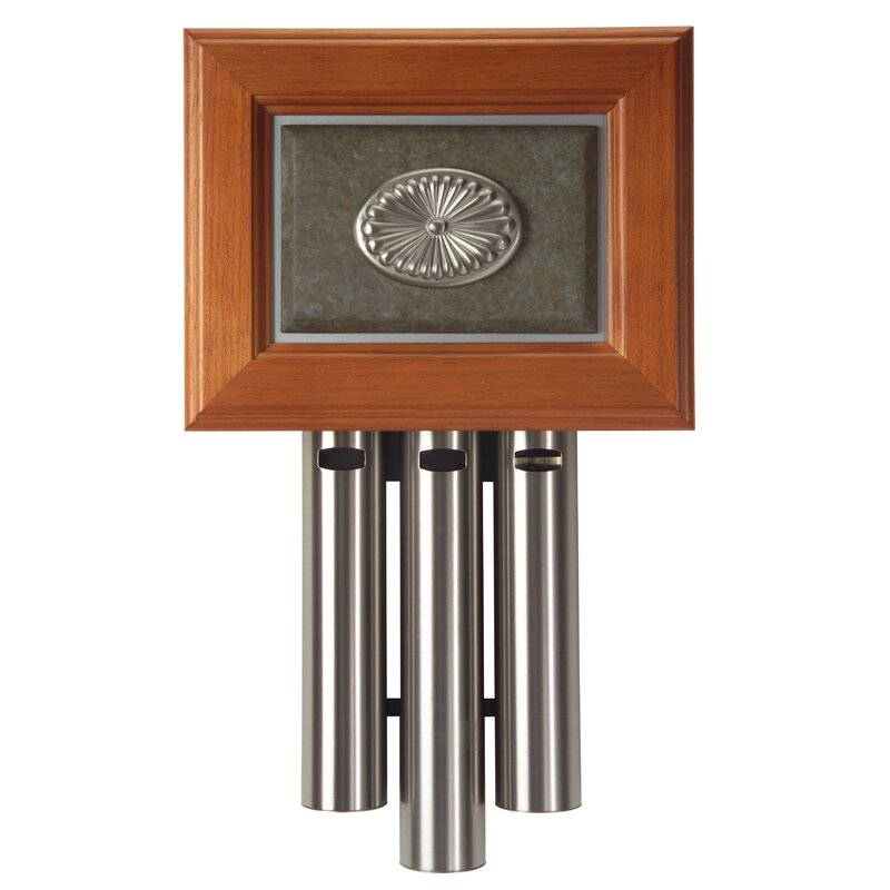 Darby Home Co Door Chime With Antique Pewter And Rustic Gold Wayfair