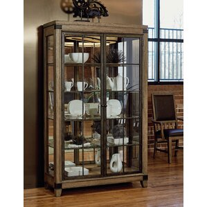 Brigadoon Lighted Curio Cabinet by Loon Peak
