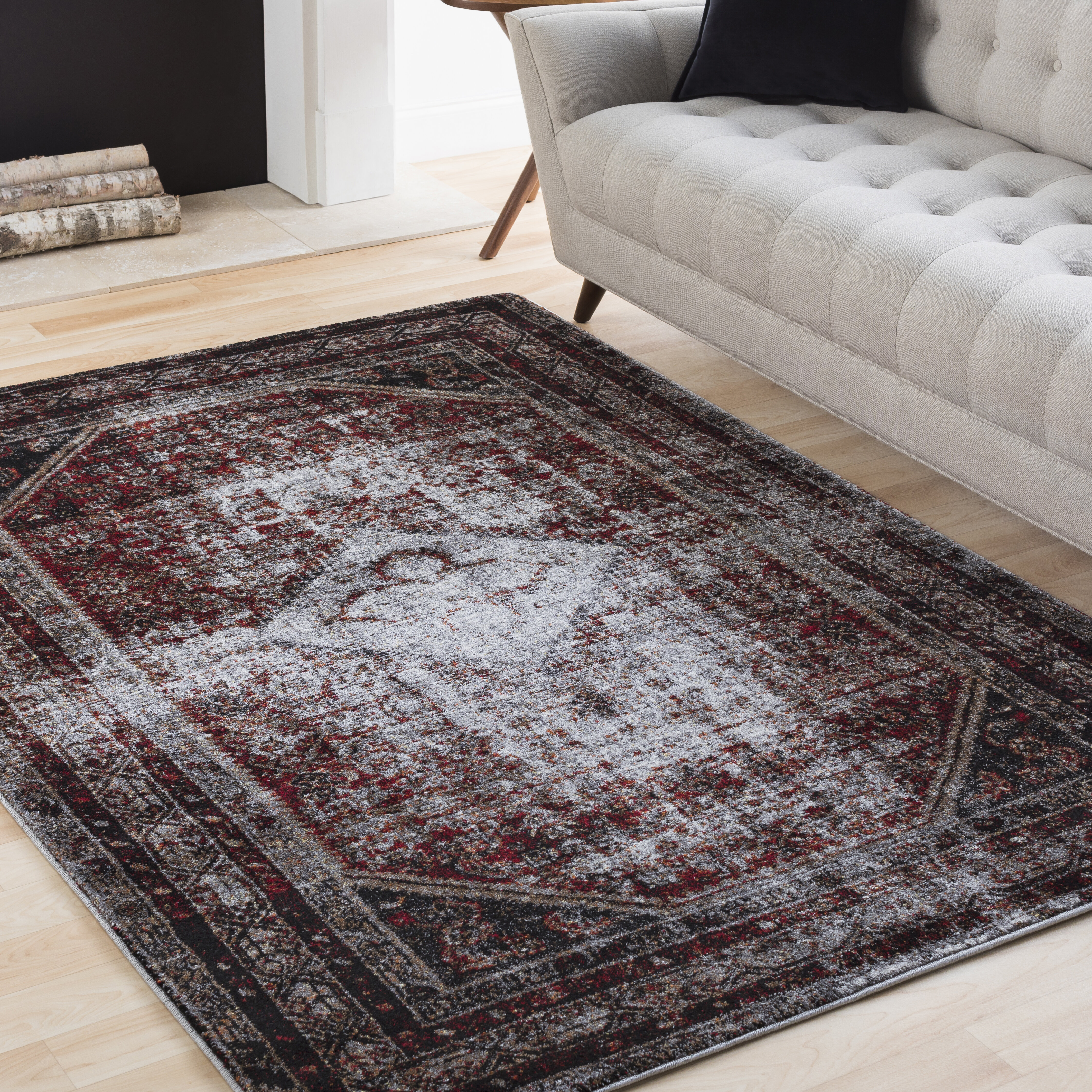living geometric jaipur rugs area black by light gray prima indoor design rug outdoor products