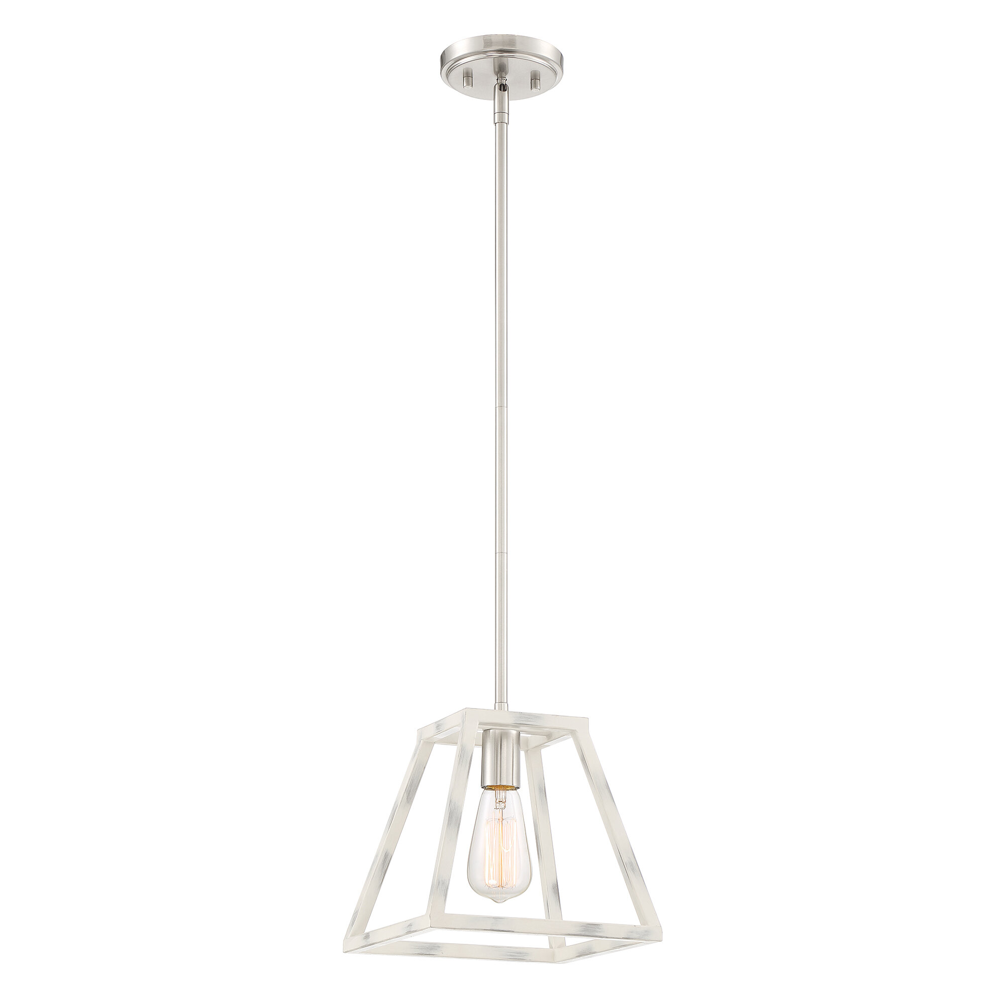 Charlton Home Mickle 1 Light Single Geometric Pendant Wayfair