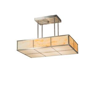 Meyda Tiffany Kyoto 4-Light Inverted Pendant