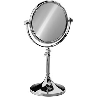 Comparison Hummer Round Double-Sided Makeup/Shaving Mirror By Alcott Hill