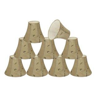 6 Silk Bell Candelabra Shade (Set of 9)
