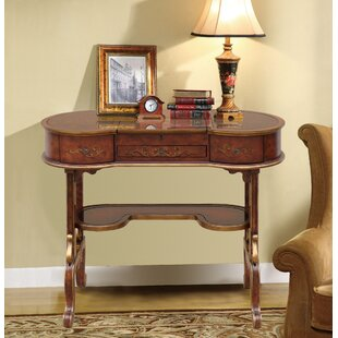 Astoria Grand Rowsey Italian Hand Painted Vanity with Mirror