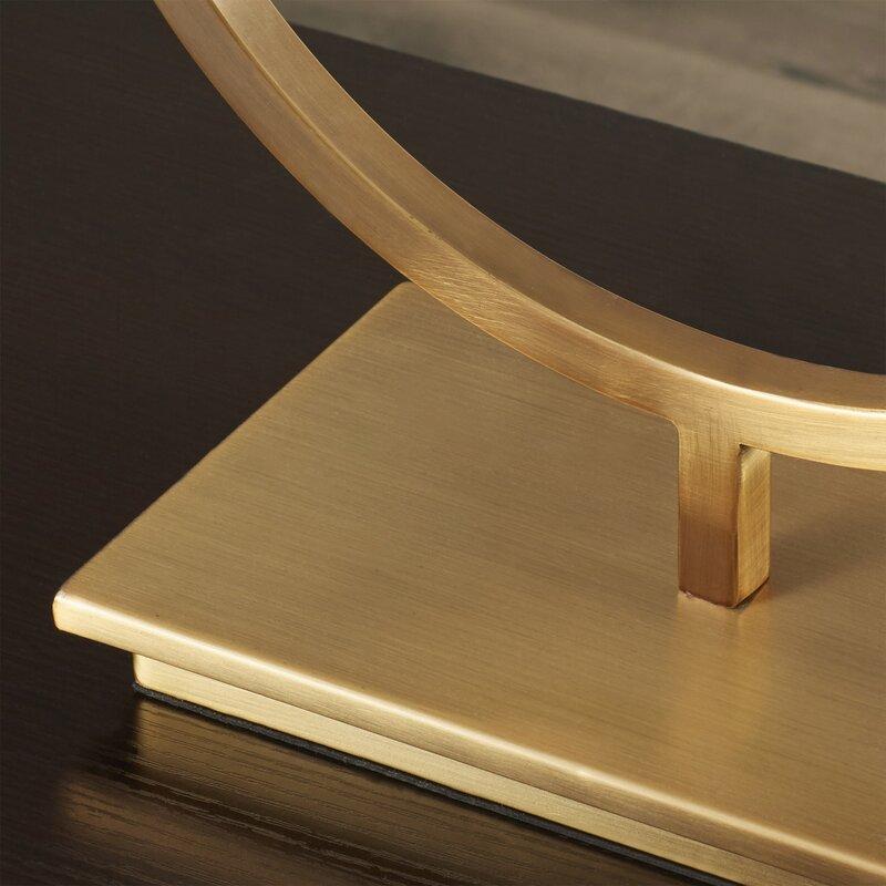 Lampe de table avec abat-jour rectangulaire 28,75 po Britley