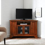 Hedon Corner TV Stand for TVs up to 52 by Three Posts™