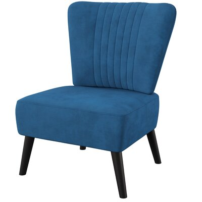 Astounding Mercury Row Trent Side Chair Upholstery Color Blue Pdpeps Interior Chair Design Pdpepsorg