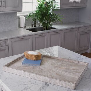 Driftwood Ottoman Accent Tray