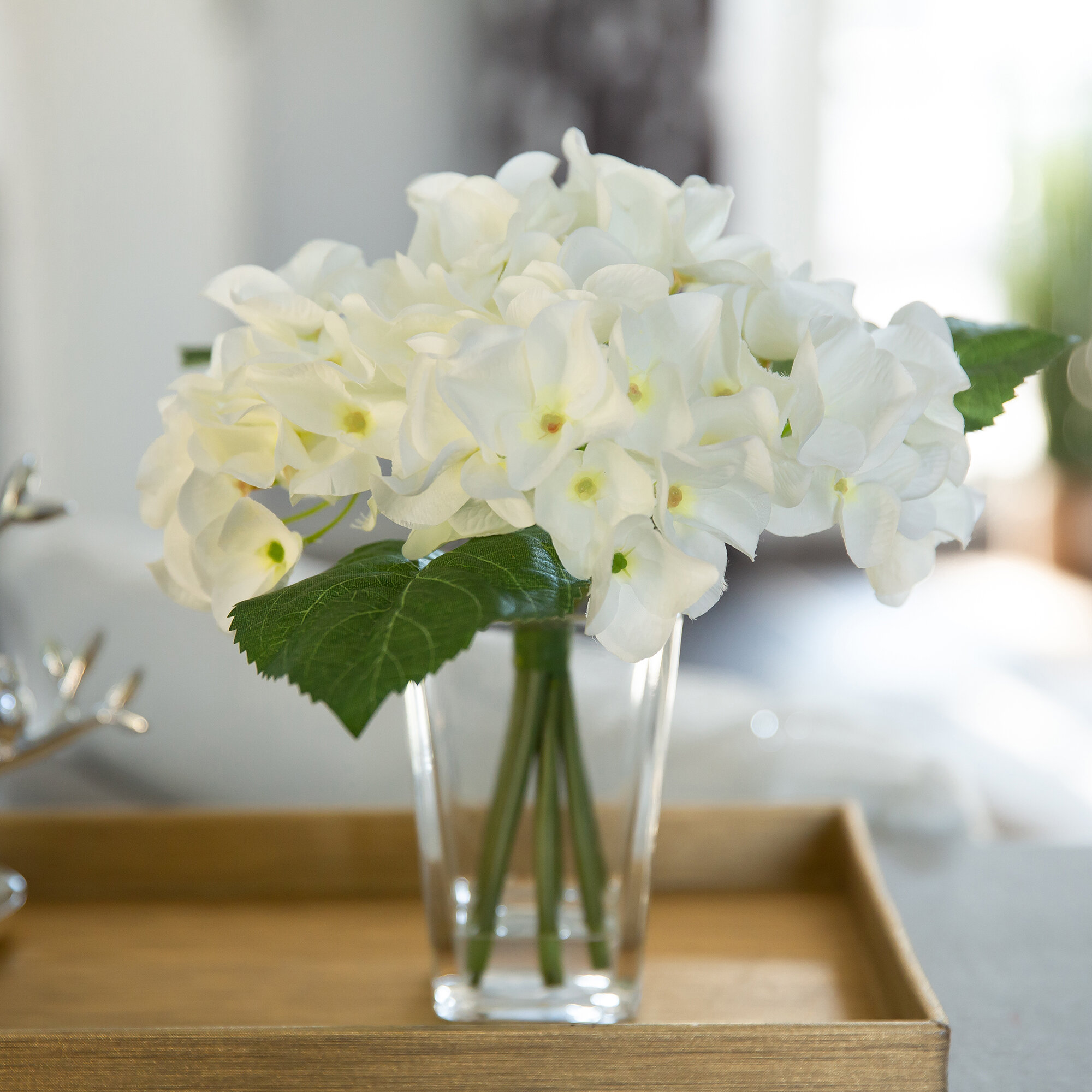 Living Vases Hand Tie Boxes 5 x Lilac Florist Aqua Boxes