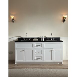 Westman 73 Double Bathroom Vanity Set ByWinston Porter
