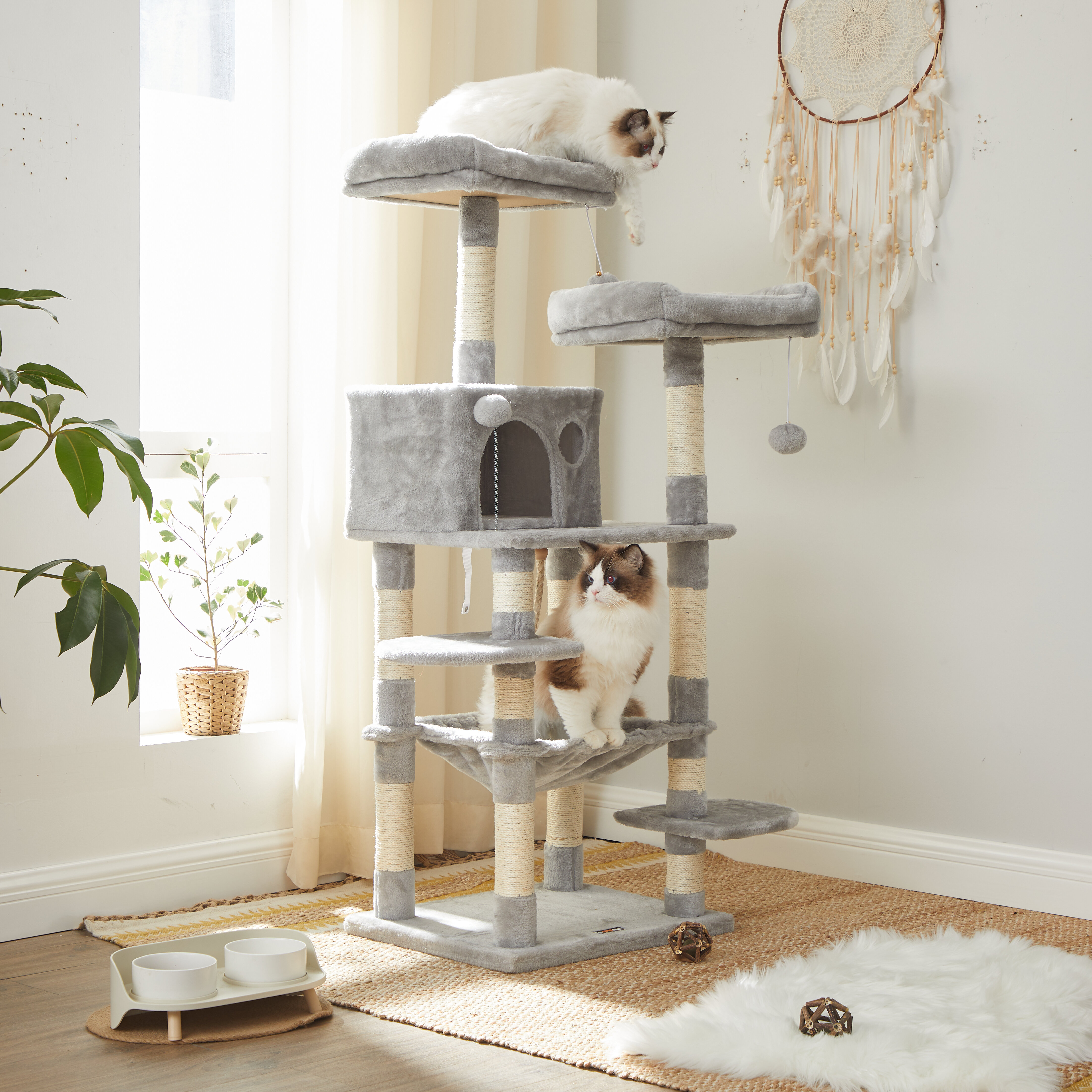 Tucker Murphy Pet 58 Byer Cat Tree Or Condo Reviews Wayfair