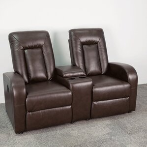 Eclipse Series Home Theater Recliner (Row of 2) by Flash Furniture
