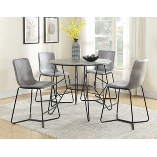 Houck 5 Piece Pub Table Set