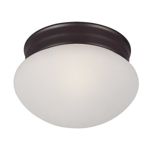 Brenden 1-Light Traditional Metal Flush Mount