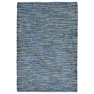 Sardis Hand-Woven Blue Indoor/Outdoor Area Rug