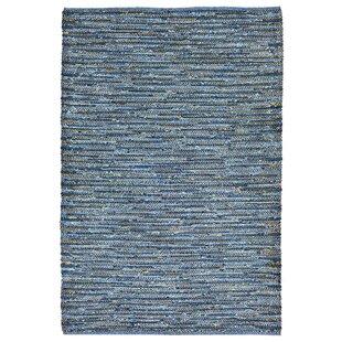 Sardis Hand-Woven Blue Indoor/Outdoor Area Rug