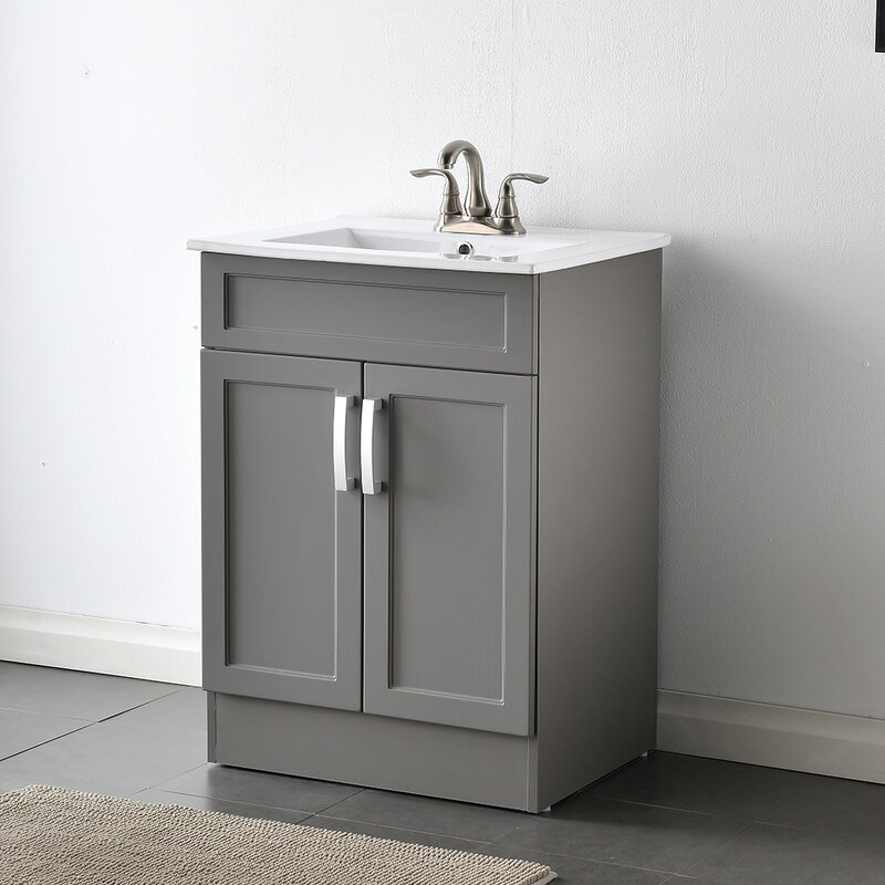 Latitude Run 23 Wall Mounted Single Bathroom Vanity Set Wayfair