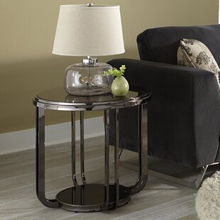 Amber Round End Table by Wade Logan