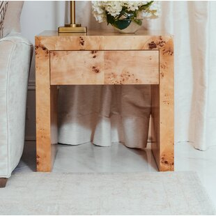Chloe End Table with Storage