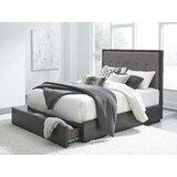 Paralimni Upholstered Storage Bed by Wrought Studio™