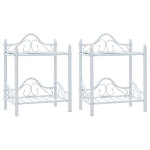 Melvina Bedside Table (Set Of 2) By Brayden Studio