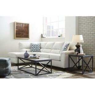 LaGuardia 3 Piece Coffee Table Set by Gracie Oaks