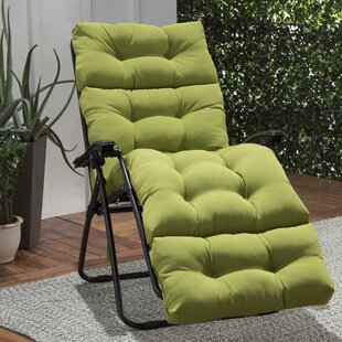 Sarver Indoor/Outdoor Chaise Lounge Cushion