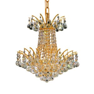 Phyllida 4-Light Chain Empire Chandelier