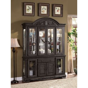 Bunnell 1-Drawer Buffet China Cabinet by Astoria Grand