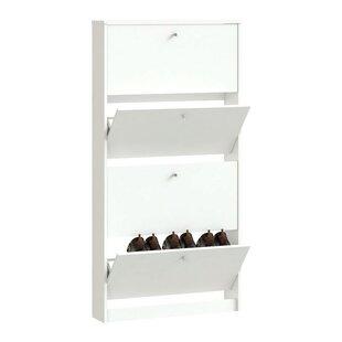 Ridgley 10-Pair Shoe Storage Cabinet
