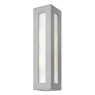 Latitude Run Elswick 2-Light Outdoor Flush Mount