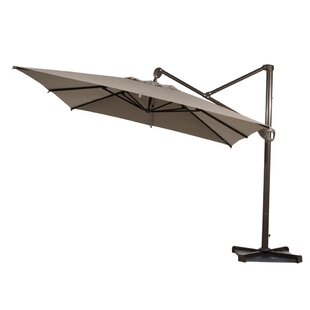 10' Square Cantilever Umbrella by Abba Patio