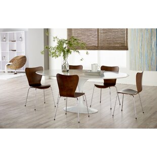 Brynn 6 Piece Dining Set Wade Logan